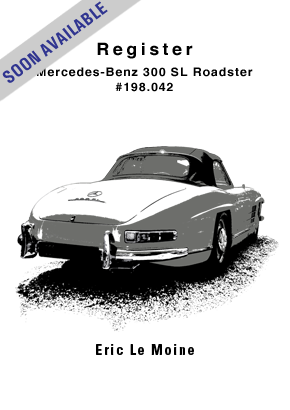 Mercedes-Benz 300 SL Roadster Register #198.042